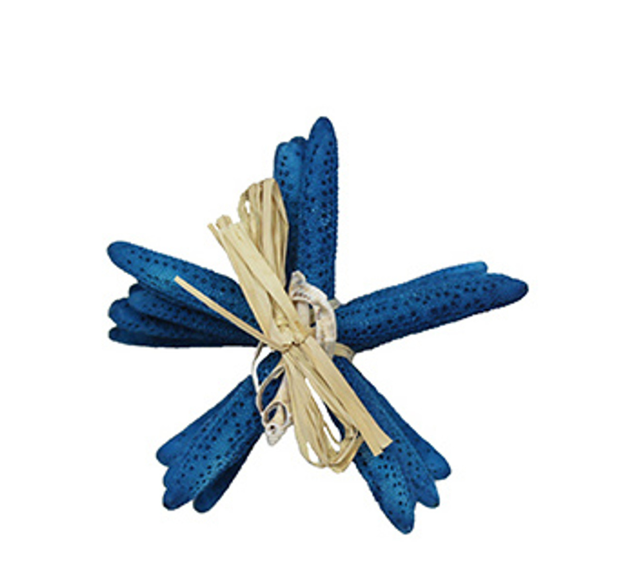 Dyed Dark Blue Finger Stars Gift Bundle 4 -5""