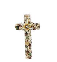 Cross with Assorted Seashells