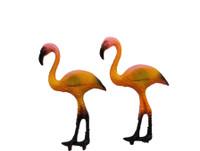 Plastic Flamingo Magnet