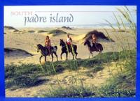 South Padre Island Horseback Riding Postcard