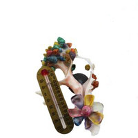 Sliced Thermometer Magnet