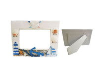 Picture Frame With Assorted Shells