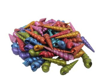Metallic Dyed Turitella Seashells