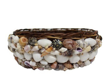 Round Nito Shell Pack Basket