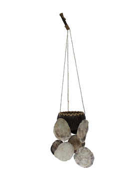 Coco Plant Hanger with Acaba Holder