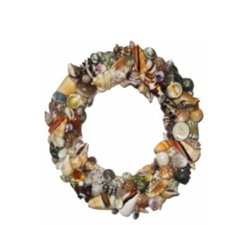 Assorted Seashells Wreath