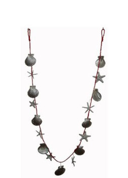 Christmas Garland- 6Ft.  (Silver)