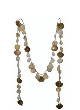 Garland W/Flats & White Shells