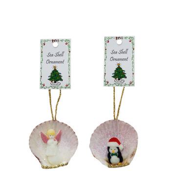 Calico Ornament Assorted Seashells