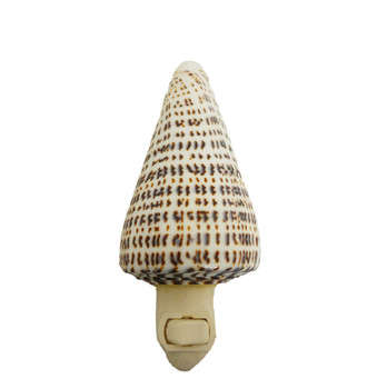 Alphabet Cone Seashell Night Light