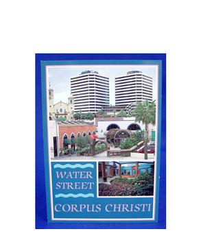Corpus Christi Water Street Postcard