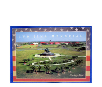 Iwo Jima Memorial Academy Postcard