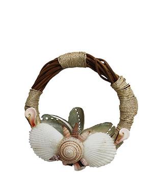 Nito Seashell Wreath