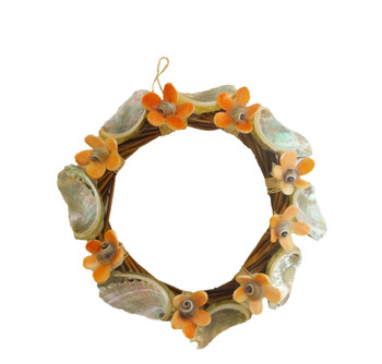 Nito Wreath with Flowers & Rope