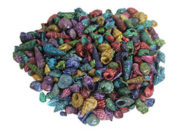 Tiny Metallic Dyed Seashell Mix