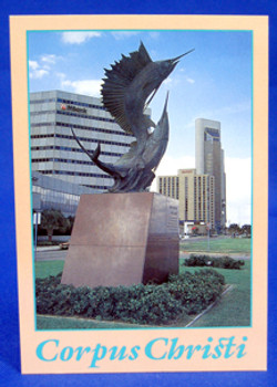 Corpus Christi Marlin Postcard