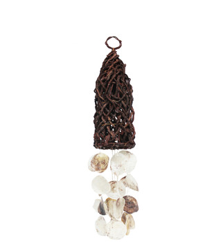Butai Bullet With Saddle Oyster Wind Chime