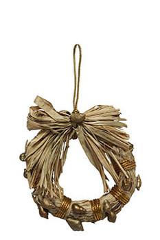 Raffia Wreath Ornament