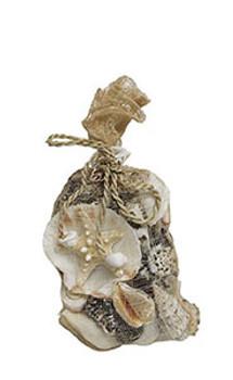 Sinamay Bags W/Black & White Shells