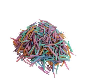 Dyed Dentalium