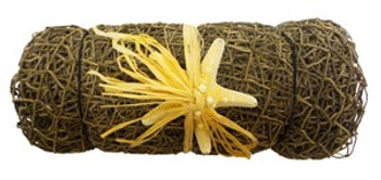 Decorative Net Roll w/Natural Armoured Starfish