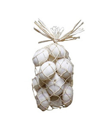 White Urchins-Natural Bag