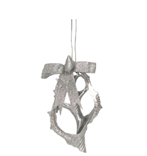 Frog Shell Slice Ornament