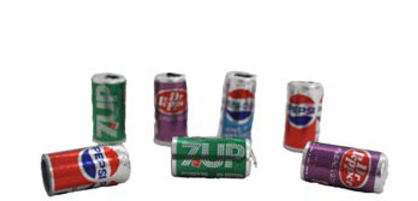 Assorted Soda Cans