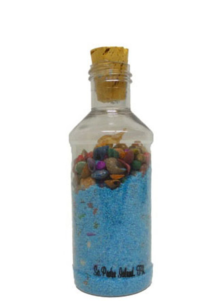 Modern Beach In a Bottle