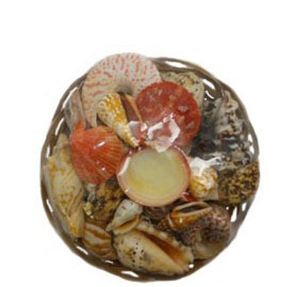 "8"" Midrib Basket Seashell Pack"