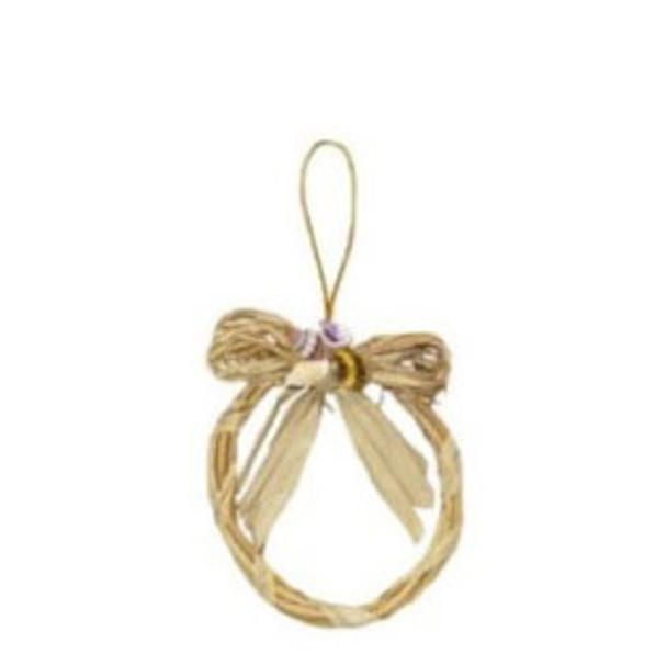 Sig-Id Wreath with Abaca Ornament
