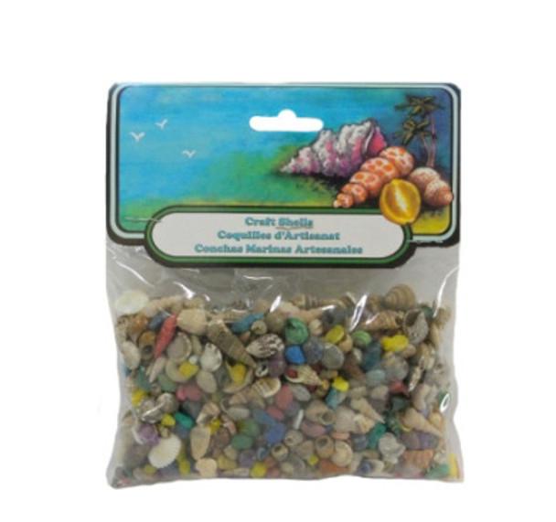 Extra Small Dyed/Natural Mix Seashells