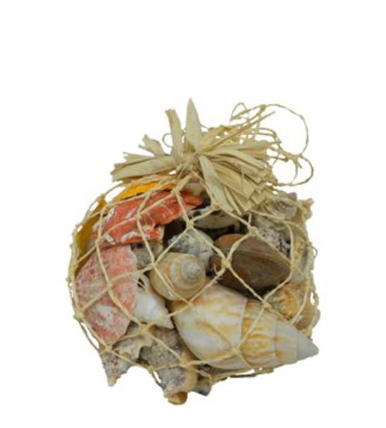 Natural Net Shell Bag