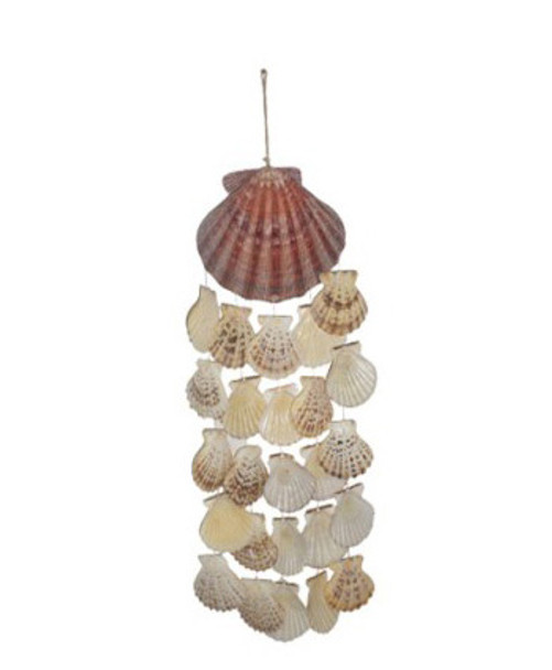 Lion's Paw Wind Chime W/Pecten