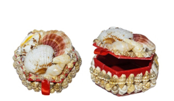 Mini Hexagon Jewelry Box