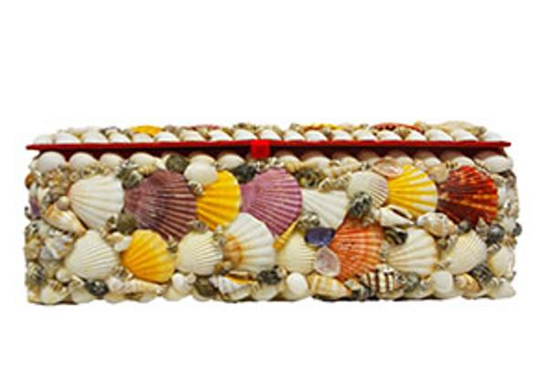 Shell Jewelry Box- Rectangle