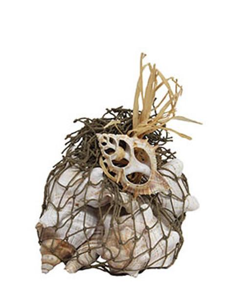 Fox Shells With Decorative Net
