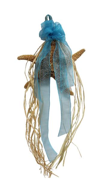 Sugar Starfish W/ Blue or Orange Bow