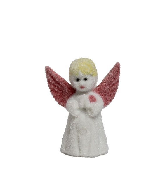 Flocked Angel