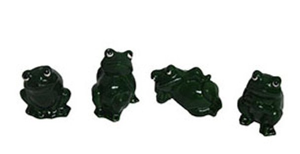 Poly Resin Frog Assortment