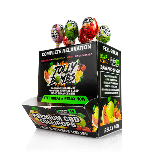 CBD Lollipops – Jolly Bombs 4-Pack
