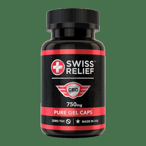 Swiss Relief 25MG Gel-Caps 30 count