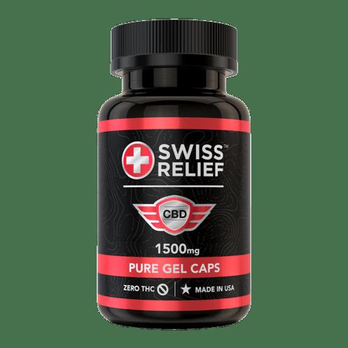 Swiss Relief 25MG Gel-Caps 60 Count