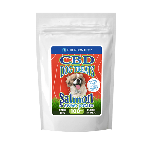 Blue Moon Hemp Salmon Dog Treats