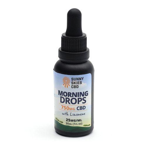 Sunny Skies Morning Drops 750mg CBD Tincture