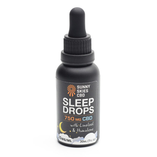 Sunny Skies Sleep Drops 750mg CBD tincture