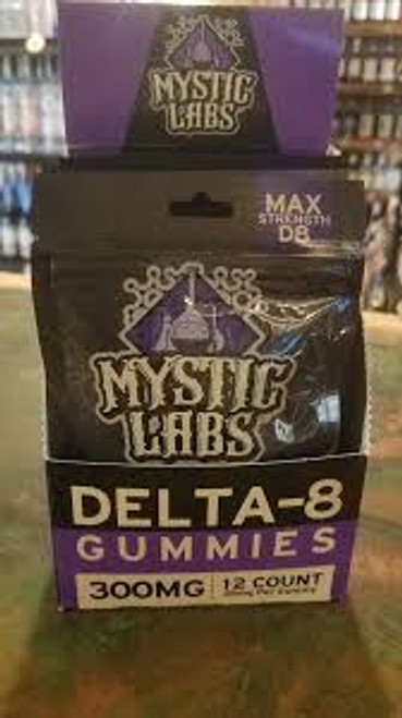 Mystic Labs 12-Pack D8 25MG Gummies