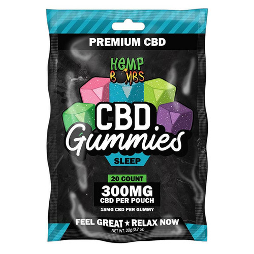 Hemp Bombs CBD Sleep Gummies 20-Count