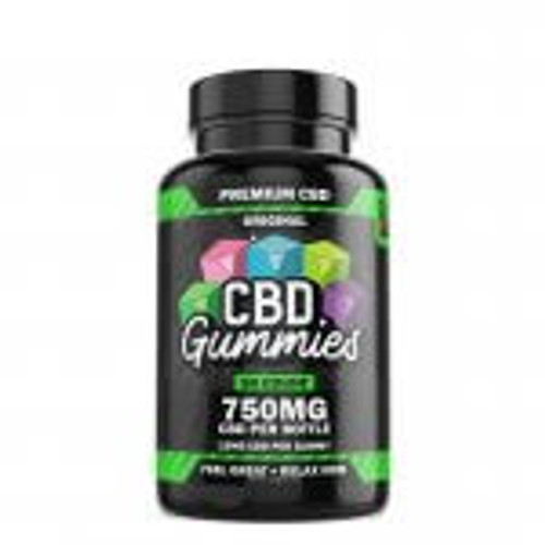 Hemp Bombs CBD Gummies 50-Count