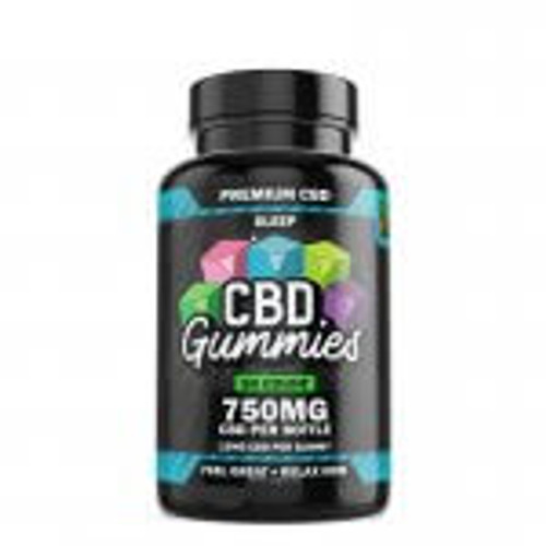 Hemp Bombs CBD Sleep Gummies 50-Count